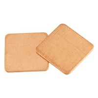 Copper thermal pad